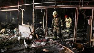 انفجار في إيران