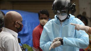 casque coronavirus bombay