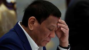 الرئيس الفيليبيني  رودريغو دوتيرتي-