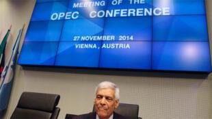 اجتماع وزراء نفط أوبك بمدينة فيينا في27 نوفمبر2014