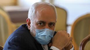 وزير الخارجية الإيراني محمد جواد ظريف في طهران