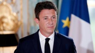 المتحدث باسم الحكومة الفرنسية بنجامين غريفو