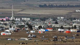 مخيمات لاجئين سوريين