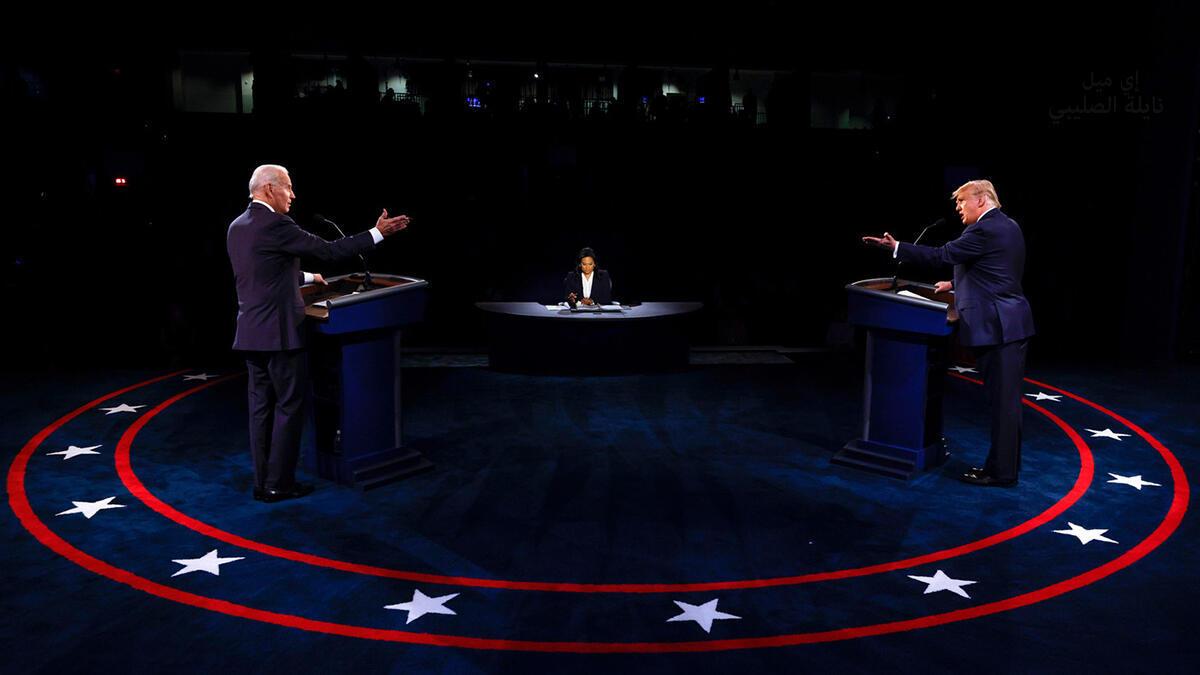 مناظرة دونالد ترامب -جوزف بايدن