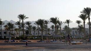 البحر الأحمر في شرم الشيخ