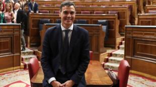رئيس حكومة إسبانيا الجديد بيدرو سانشيز