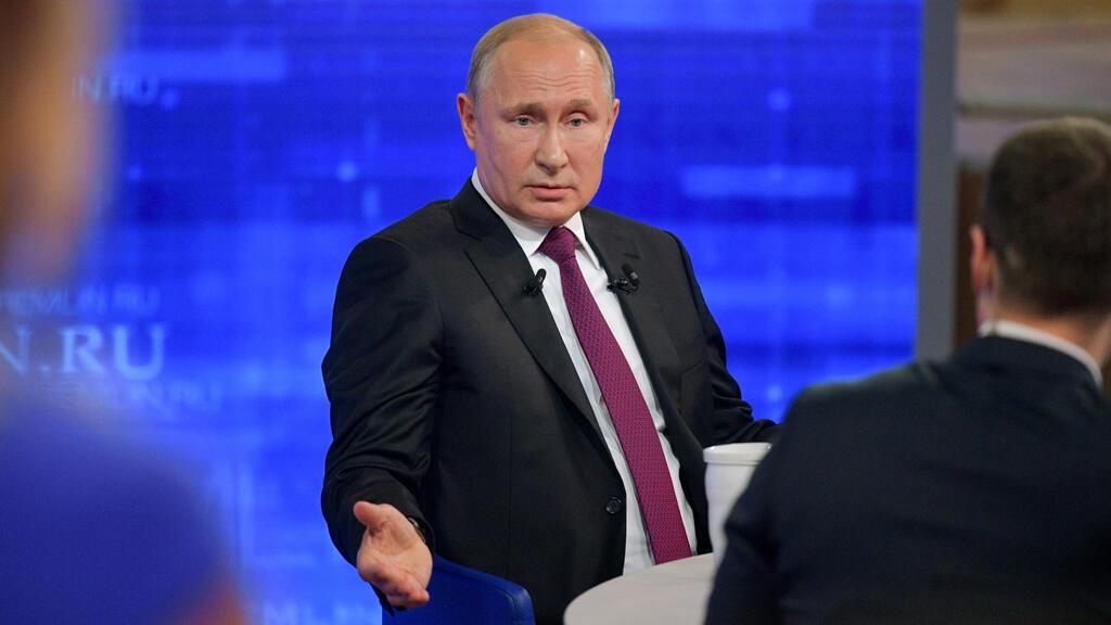 """بوتين خلال البرنامج التلفزيوني """"الخط المباشر"""" مع المواطنين في 20/06/2019"""