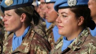 عناصر من قوات اليونيفيل المنتشرة في جنوب لبنان