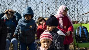 أطفال من أبناء الجهاديون في سوريا