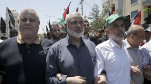 إسماعيل هنية زعيم حركة حماس