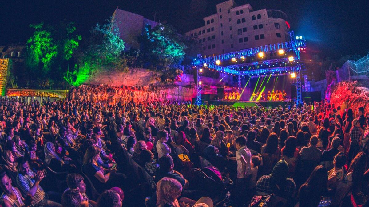 """مهرجان """"وين ع رام الله"""" السنوي"""