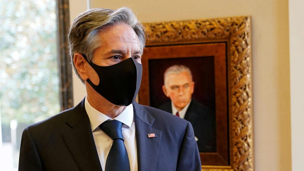 وزير الخارجية الأمريكي أنتوني بلينكن في باريس