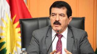 نائب رئيس إقليم كردستان كوسرت رسول