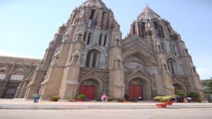أحد الكنائس الكاثوليكية في الهند