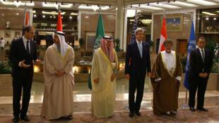 اللجنة الرباعية بمشاركة سلطنة عمان والمبعوث الدولي اسماعيل ولد الشيخ احمد في الرياض
