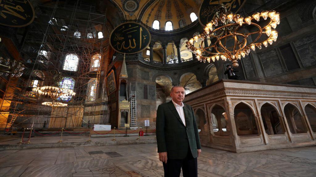 TURKEY-HAGIASOPHIA-PREVIEW