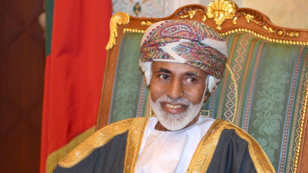 السلطان  العماني الراحل قابوس