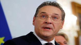 نائب المستشار النمساوي هاينز كريستيان