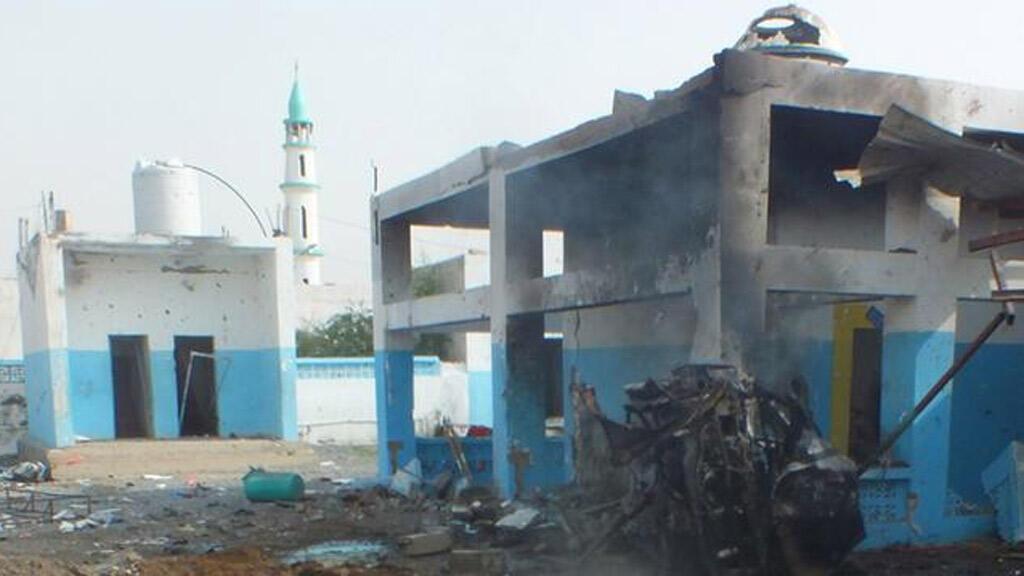 مشفى أطباء بلا حدود بعد تعرضه في وقت سابق للقصف