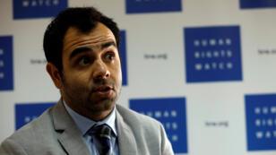 عمر شاكر مدير هيومن رايتس ووتش لإسرائيل والأراضي الفلسطينية