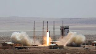 موقع لإطلاق الصواريخ في إيران
