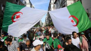 احتجاجات في الجزائر العاصمة-