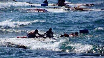 غرق مهاجرين ( صورة تعبيرية)