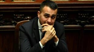 نائب رئيس الحكومة الايطالية لويجي دي مايو