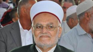 إمام وخطيب المسجد الأقصى الشيخ عكرمة صبري