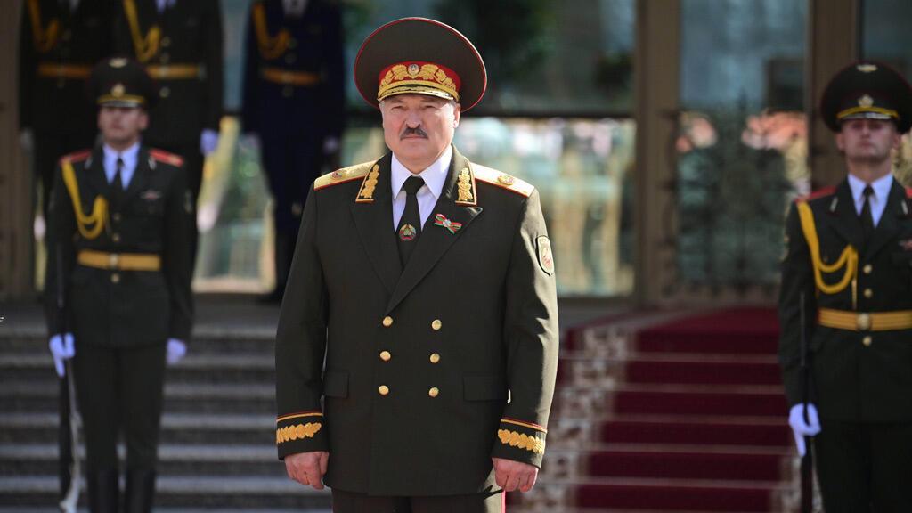 ألكسندر لوكاشينكو في العاصمة البيلاروسية مينسك