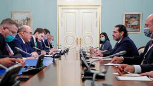سعد الحريري يلتقي في موسكو بالمسؤولين الروس
