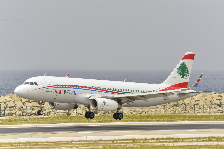 avion libanais mea