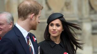 الأمير هاري رفقة خطيبته ميغن ماركل