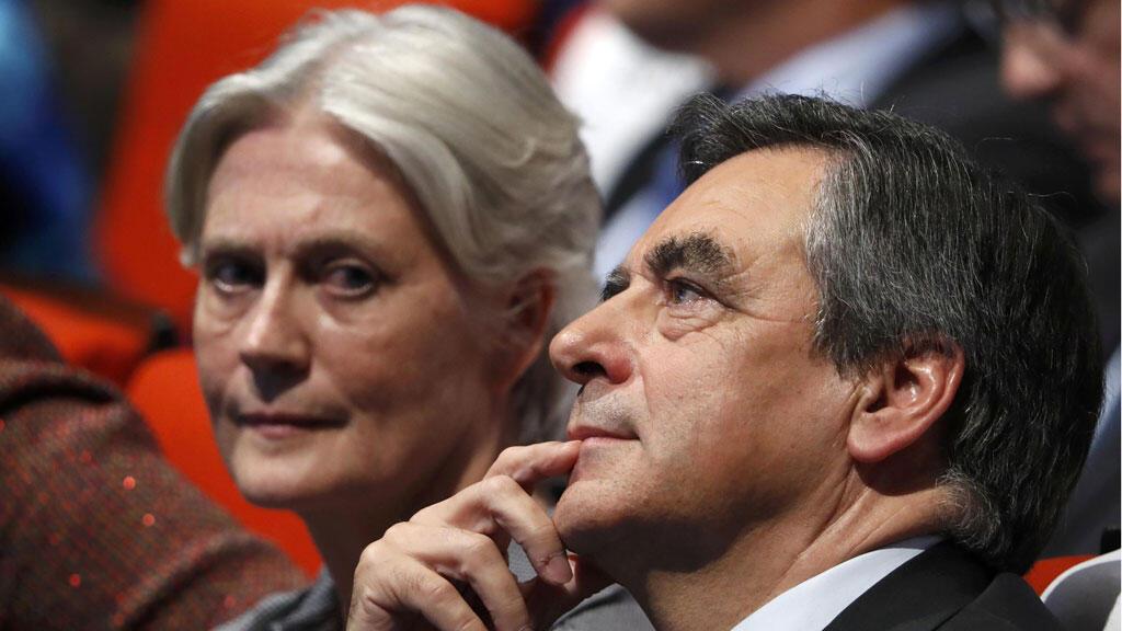 فرانسوا فيون وزوجته