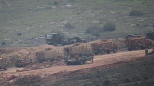 عناصر من الجيش التركي في مدينة عفرين السورية