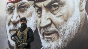 في الذكرى الأولى لاغتيال قاسم سليماني في العراق