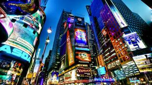 """""""تايم سكوير"""" في نيويورك"""