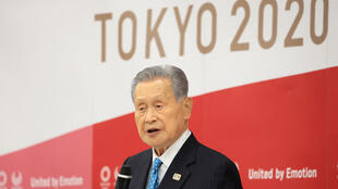 يوشيرو موري رئيس أولمبياد طوكيو في البايان