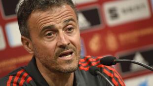 لويس إنريكي مدرب المنتخب الإسباني