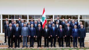 الحكومة اللبنانية برئاسة سعد الحريري