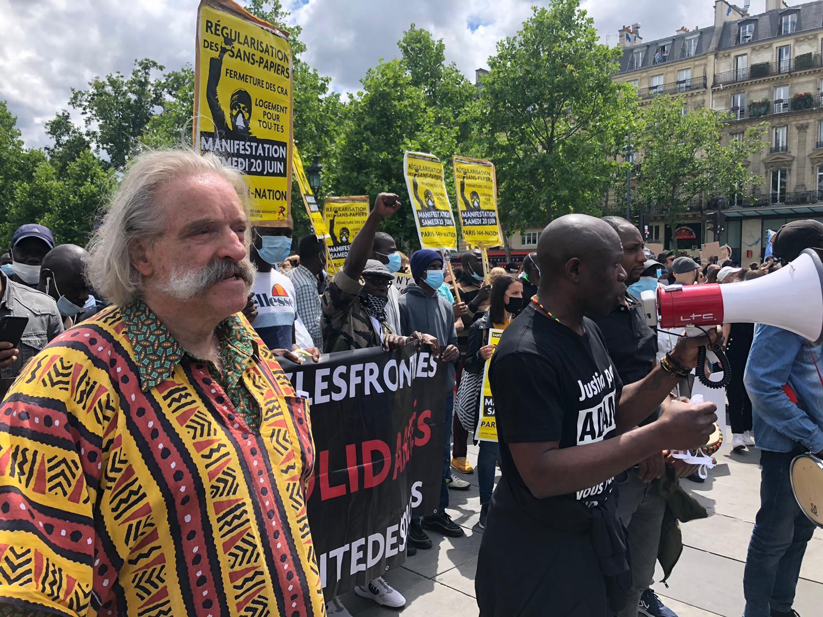 تظاهرات ضد عنف الشرطة في باريس
