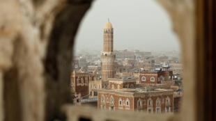 صورة للحي القديم في صنعاء