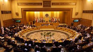 وزراء الخارجية العرب في ختام اجتماعهم في القاهرة