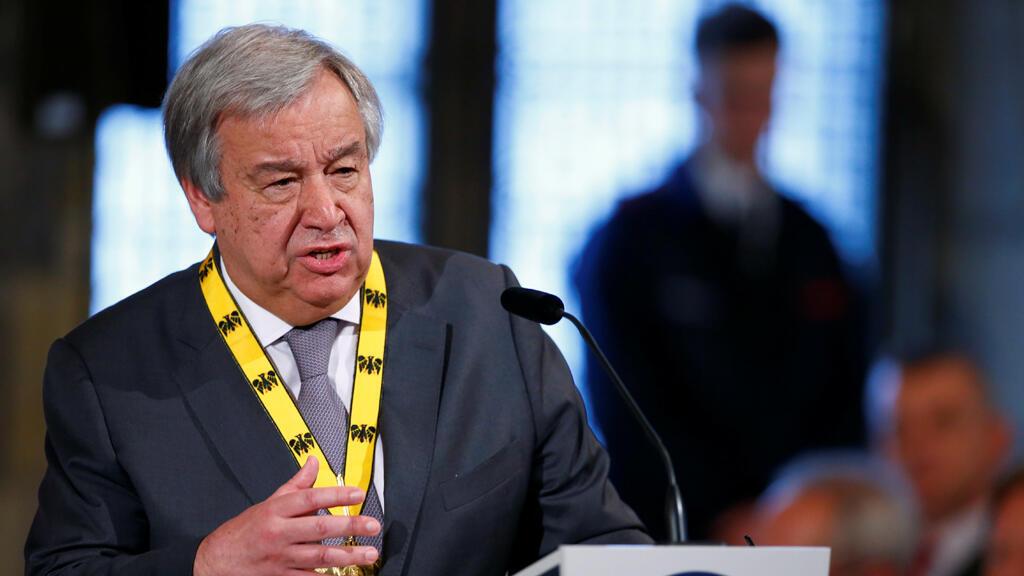 الأمين العام للأمم المتحدة انطونيو غوتيرش