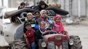 معارك طاحنة في الغوطة الشرقية