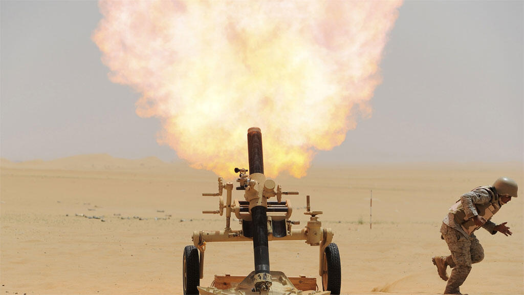 إطلاق قذيفة هاون ( صورة تعبيرية)