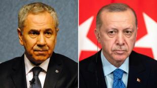 رجب طيب إردوغان وبولنت أرينج