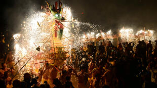 احتفالات الصينيين برأس السنة القمرية-