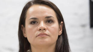 زعيمة المعارضة البيلاروسية سفيتلانا تيخانوفسكاي