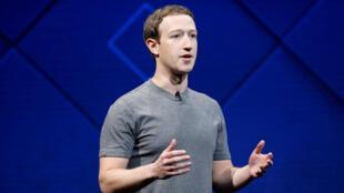 """رئيس موقع """"فيسبوك""""مارك زوكربرغ"""